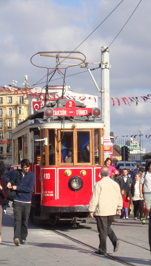 Istiklal, παραδοσιακό τραμ