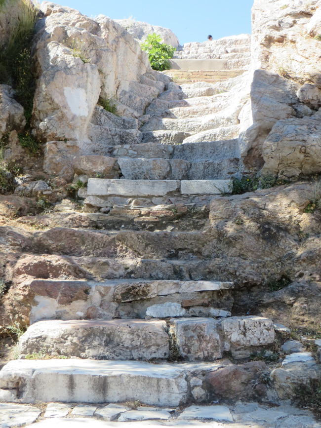 Steps to a magnificent view!