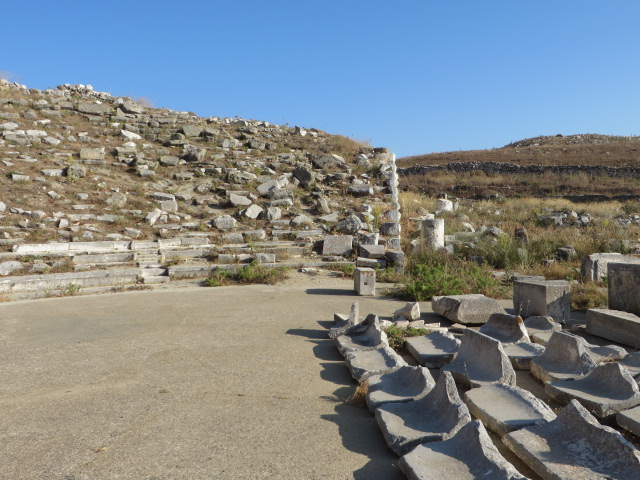 The ancient theatre!