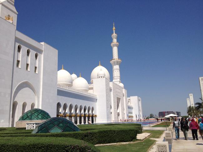 Το Τζαμί Sheikh Zayed Grand Mosque στο Abu Dhabi