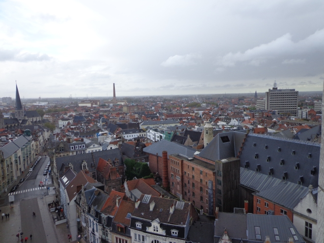 Ghent, magnificent view!