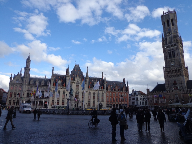 Brugge, main square