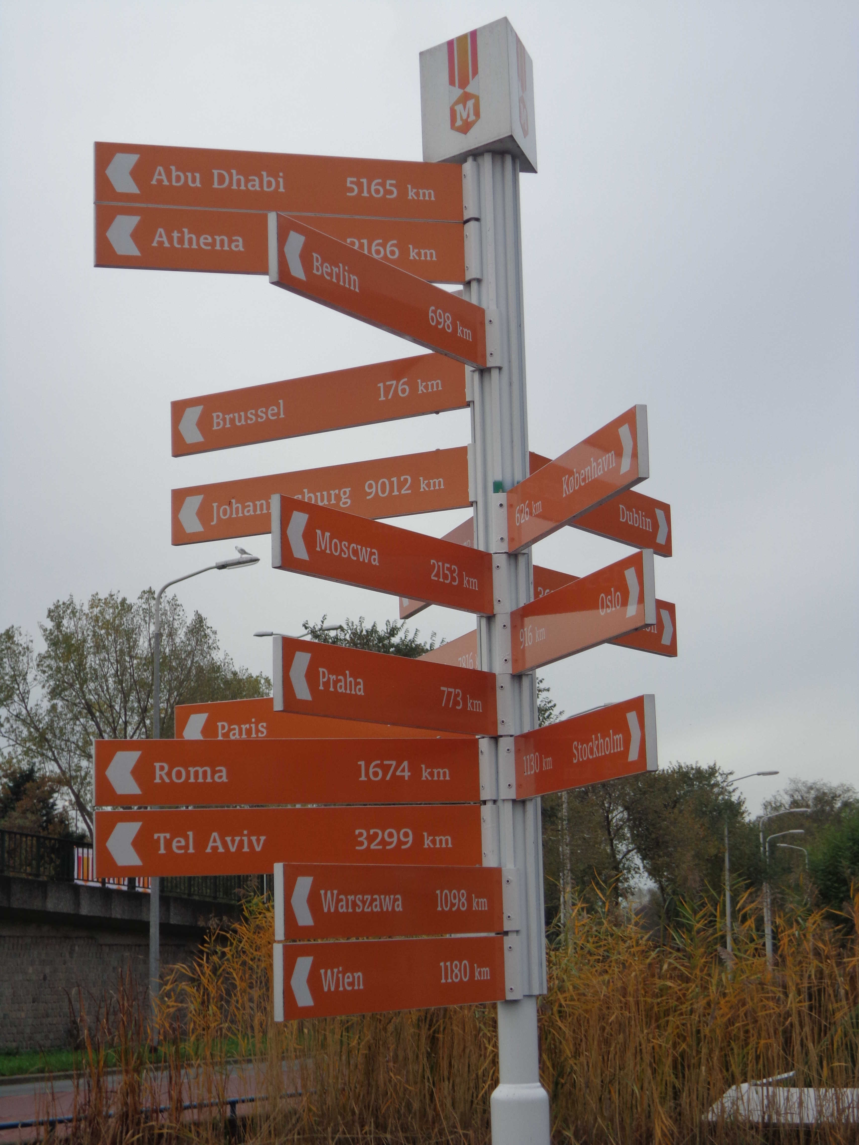 Which way to go?!