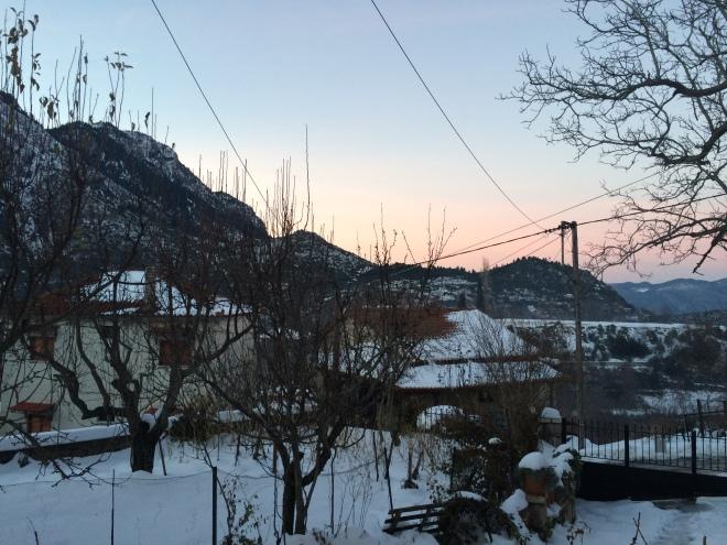 Η θέα από το σπίτι