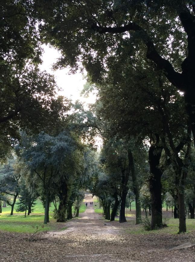 Στο πάρκο της Villa Borghese
