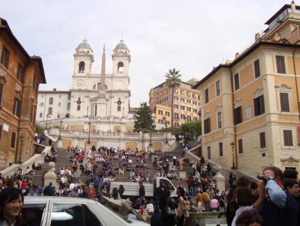 Η Piazza di Spagna